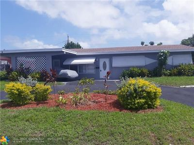Pompano Beach Single Family Home For Sale: 1680 NW 1st Way