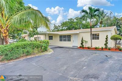 Pompano Beach Single Family Home For Sale: 211 NE 25th Ct