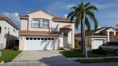 Margate Single Family Home For Sale: 3117 Vista Del Mar