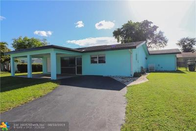 Tamarac Single Family Home For Sale: 8103 NW 71st Ave