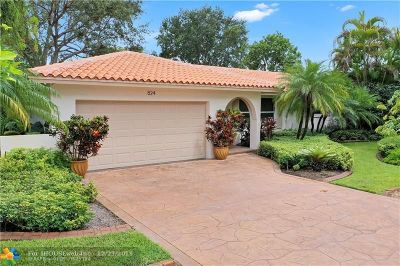 Plantation Single Family Home For Sale: 824 N Bel Air Drive