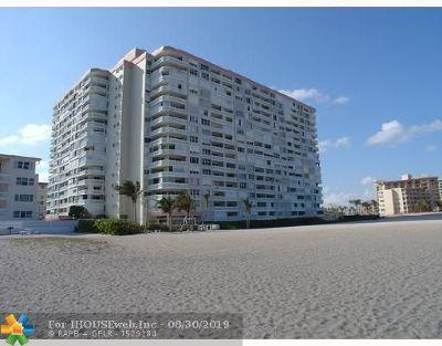 Pompano Beach Condo/Townhouse For Sale: 1012 N Ocean Blvd #804