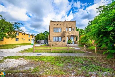 Fort Lauderdale Multi Family Home For Sale: 327 SW 20th St