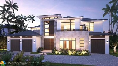 Fort Lauderdale FL Single Family Home For Sale: $12,000,000