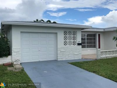 Margate Single Family Home For Sale: 1600 NW 68th Ter