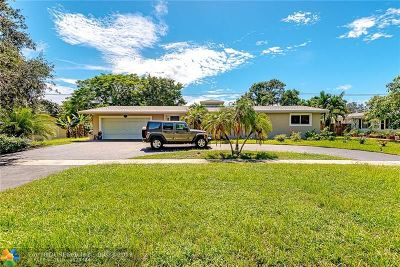 Plantation Single Family Home For Sale: 382 S Fig Tree Ln