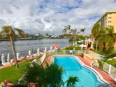 Pompano Beach Condo/Townhouse For Sale: 605 N Riverside Dr #20