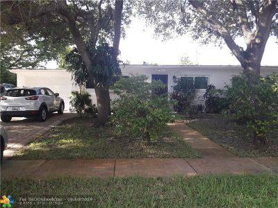 Plantation Single Family Home For Sale: 6941 NW 15th St