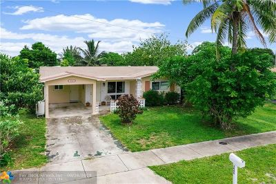 Pompano Beach Single Family Home For Sale: 3840 NE 15th Ter