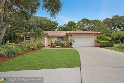 Boca Raton Single Family Home For Sale: 2418 NW 32nd St