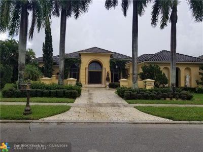 Boca Raton Single Family Home For Sale: 5911 Vintage Oaks Delray W Vintage Oaks