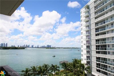 Miami Beach Condo/Townhouse For Sale: 800 West Ave #642