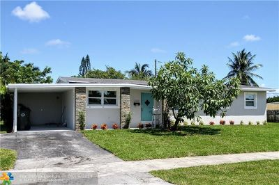 Oakland Park Single Family Home For Sale: 4210 NW 12th Ter