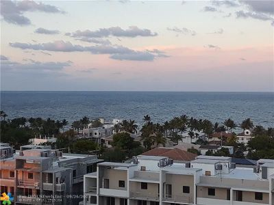 Fort Lauderdale Condo/Townhouse For Sale: 3015 N Ocean Blvd #11E