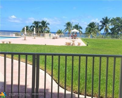 Pompano Beach Condo/Townhouse For Sale: 750 N Ocean Blvd #210