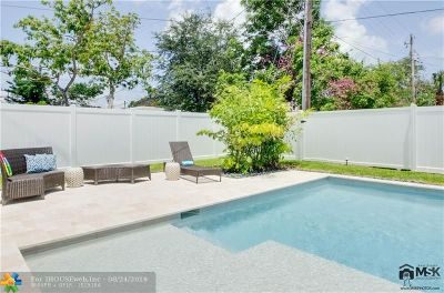 Fort Lauderdale Single Family Home For Sale: 2012 SW 4th Ave