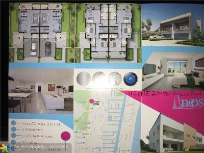 Pompano Beach Condo/Townhouse For Sale: 1121 NE 23 Ter #1121