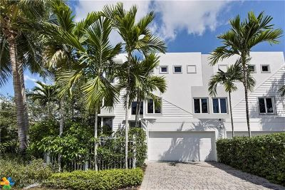Fort Lauderdale Condo/Townhouse For Sale: 805 NE 3rd St #805