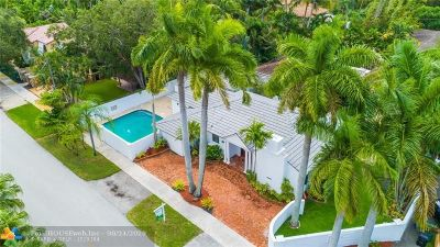 Fort Lauderdale Single Family Home For Sale: 1700 NE 4th Ct