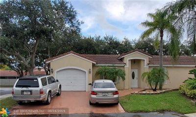 Coconut Creek Single Family Home For Sale: 6060 NW 42nd Way