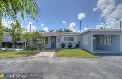 Pompano Beach Single Family Home For Sale: 348 SW 14th Ct