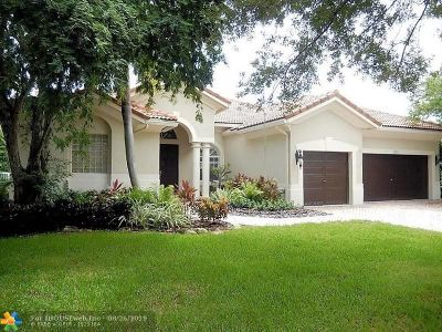 Coral Springs Single Family Home For Sale: 4823 NW 124th Way