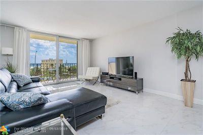 Pompano Beach Condo/Townhouse For Sale: 1009 N Ocean Blvd #410