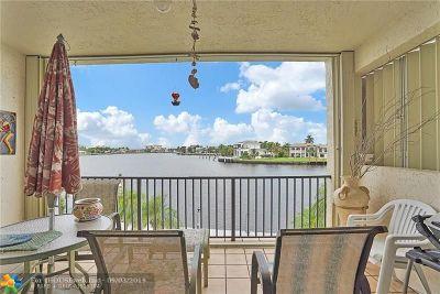 Pompano Beach Condo/Townhouse For Sale: 1101 S Riverside Dr #201