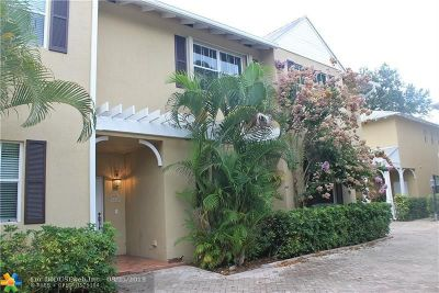 Broward County, Collier County, Lee County, Palm Beach County Rental For Rent: 1210 W Las Olas Blvd #1210