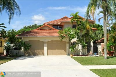 Deerfield Single Family Home For Sale: 669 NW 40th Ter
