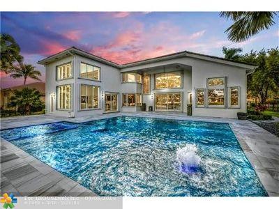 Davie Single Family Home For Sale: 10281 N Lake Vista Cir