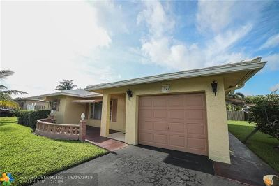 Tamarac Single Family Home For Sale: 9608 NW 67th Ct