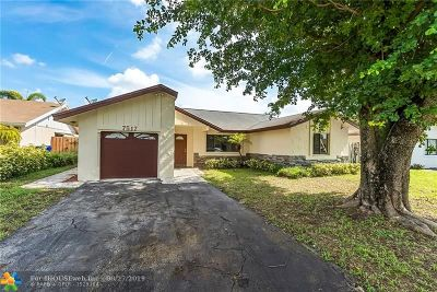 North Lauderdale Single Family Home Backup Contract-Call LA: 7517 SW 6th St