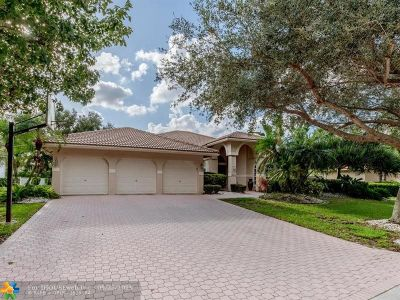 Coral Springs Single Family Home For Sale: 1720 NW 126th Dr