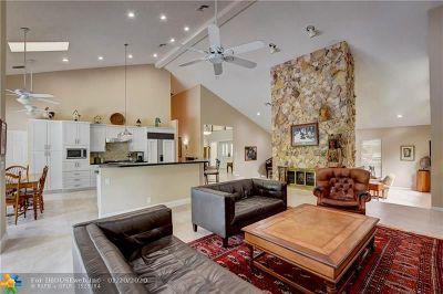 Coral Springs Single Family Home For Sale: 1720 Vestal Dr