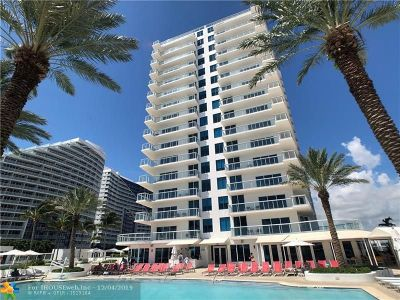 Fort Lauderdale Condo/Townhouse For Sale: 505 N Fort Lauderdale Beach Blvd #1202