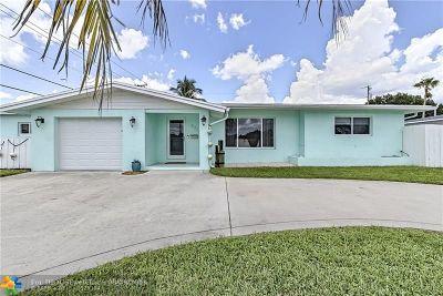 Pompano Beach Single Family Home Backup Contract-Call LA: 571 SE 14 St