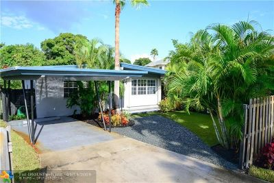 Fort Lauderdale FL Single Family Home For Sale: $329,000
