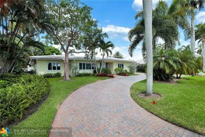 Fort Lauderdale Single Family Home For Sale: 161 Nurmi Dr