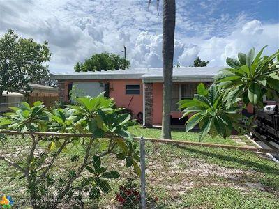 Pompano Beach Single Family Home For Sale: 238 NE 26th Ct