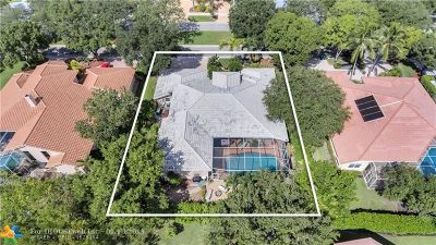 Broward County Single Family Home For Sale: 1775 Eagle Trace Blvd W