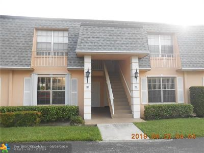 Plantation Condo/Townhouse For Sale: 290 NW 69th Ave #169