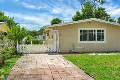 Margate Single Family Home For Sale: 6168 SW 2nd St