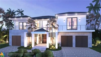 Fort Lauderdale FL Single Family Home For Sale: $13,000,000