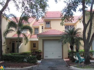 Coral Springs Condo/Townhouse For Sale: 9816 Royal Palm Blvd #10-16