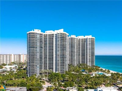 Fort Lauderdale Condo/Townhouse For Sale: 3100 N Ocean Blvd #2603