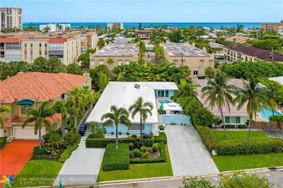 Lauderdale By The Sea Single Family Home For Sale: 4618 Sea Grape Dr