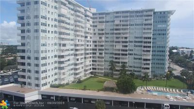 Fort Lauderdale Condo/Townhouse Backup Contract-Call LA: 1900 S Ocean Dr #405