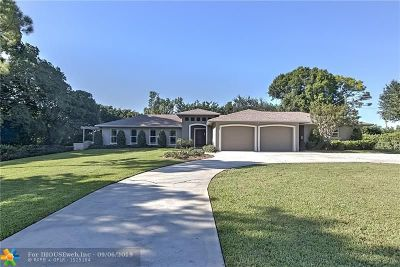 Delray Beach Single Family Home For Sale: 3692 Lone Pine Rd