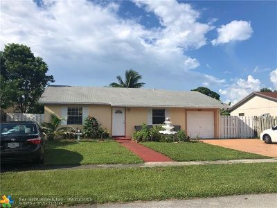 North Lauderdale Single Family Home Backup Contract-Call LA: 8161 SW 7 Ct